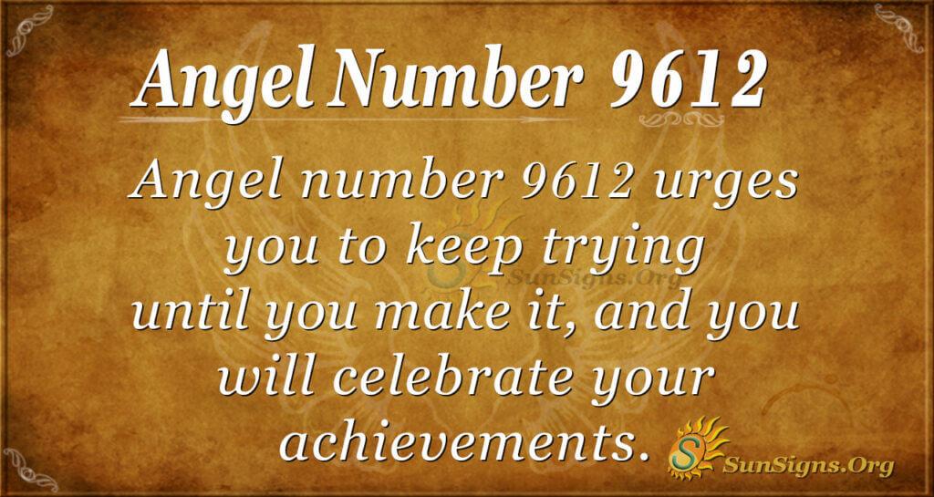 9612 angel number