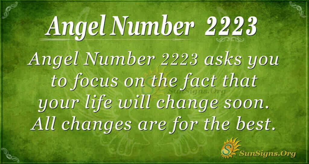 2223 angel number