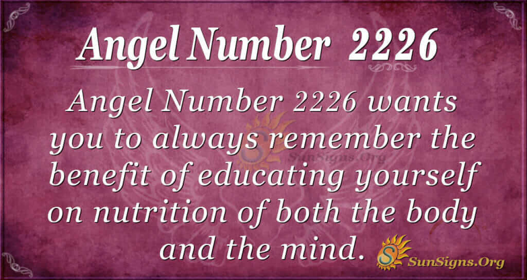 2226 angel number