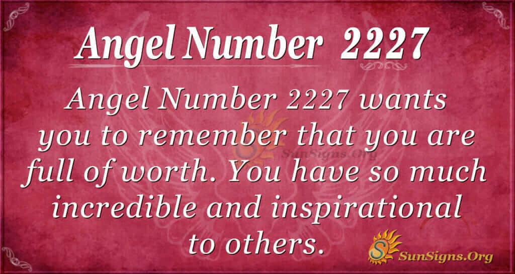 2227 angel number