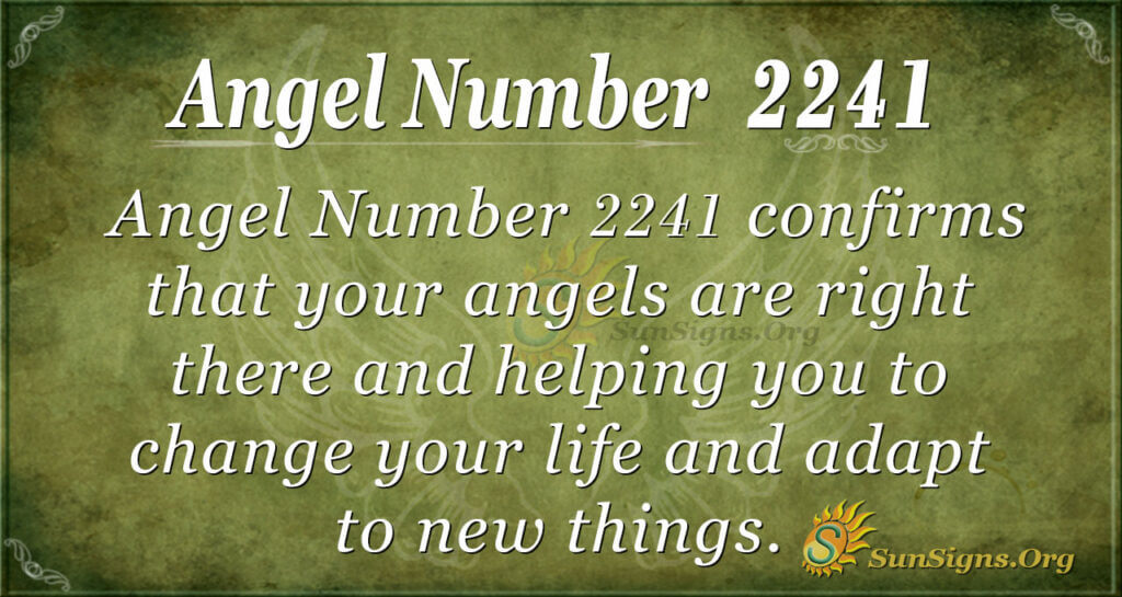 2241 angel number
