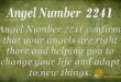 2241 angel number