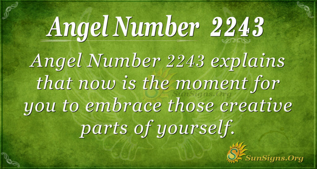 2243 angel number