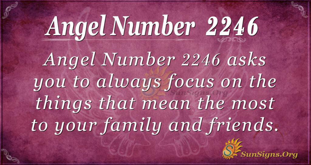 2246 angel number