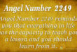 2249 angel number