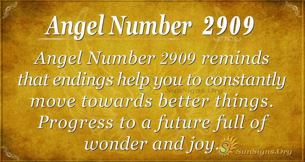 2909 angel number