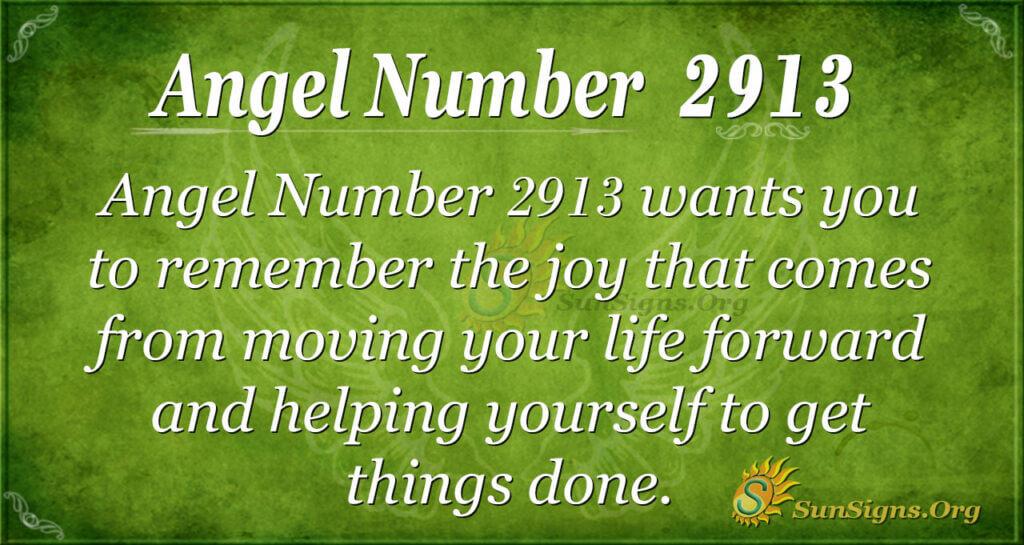 2913 angel number