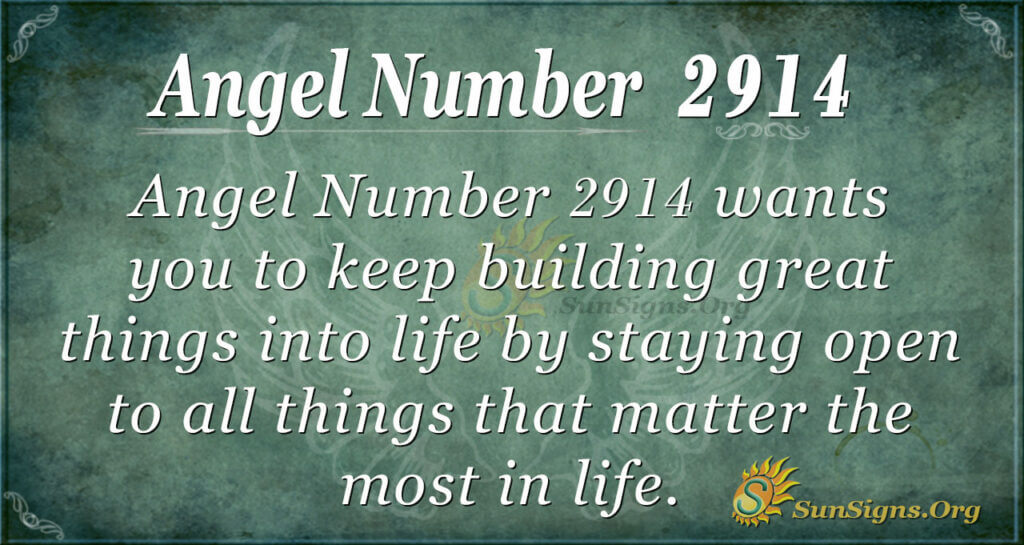 2914 angel number