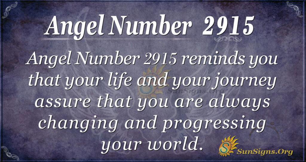 2915 angel number