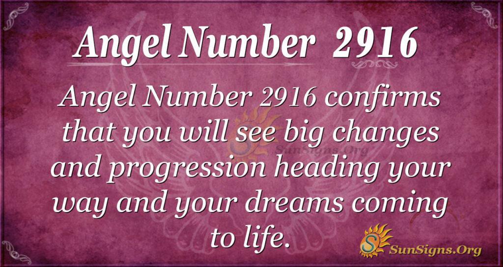 2916 angel number