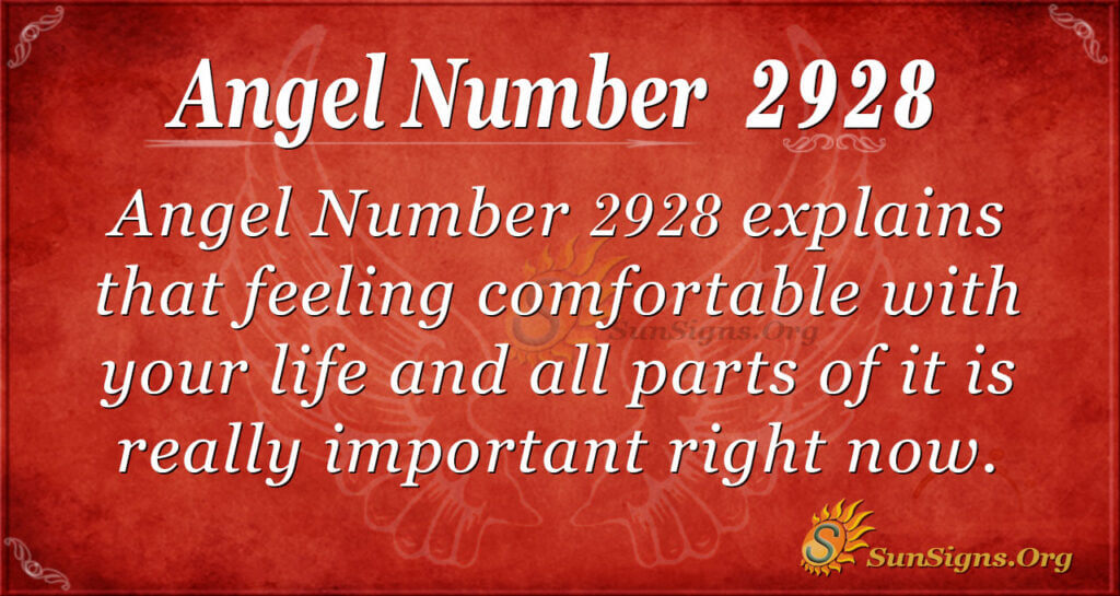 2928 angel number