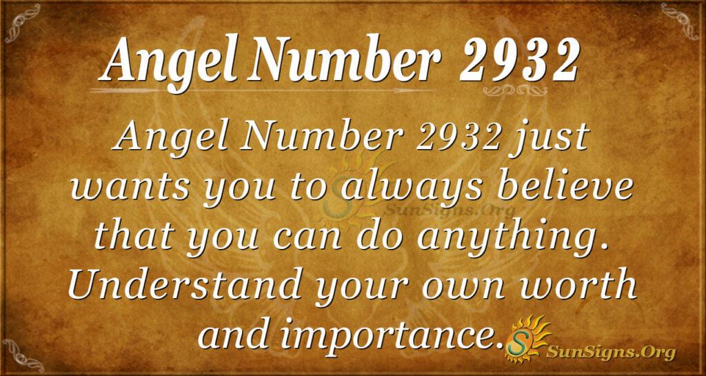 2932 angel number