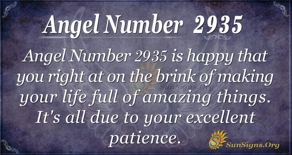 2935 angel number