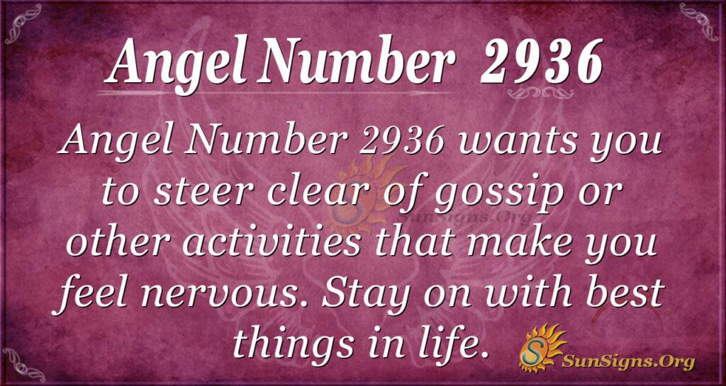 2936 angel number