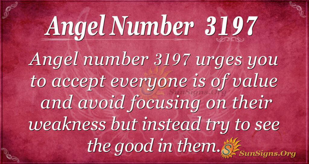 3197 angel number