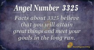 3325 angel number
