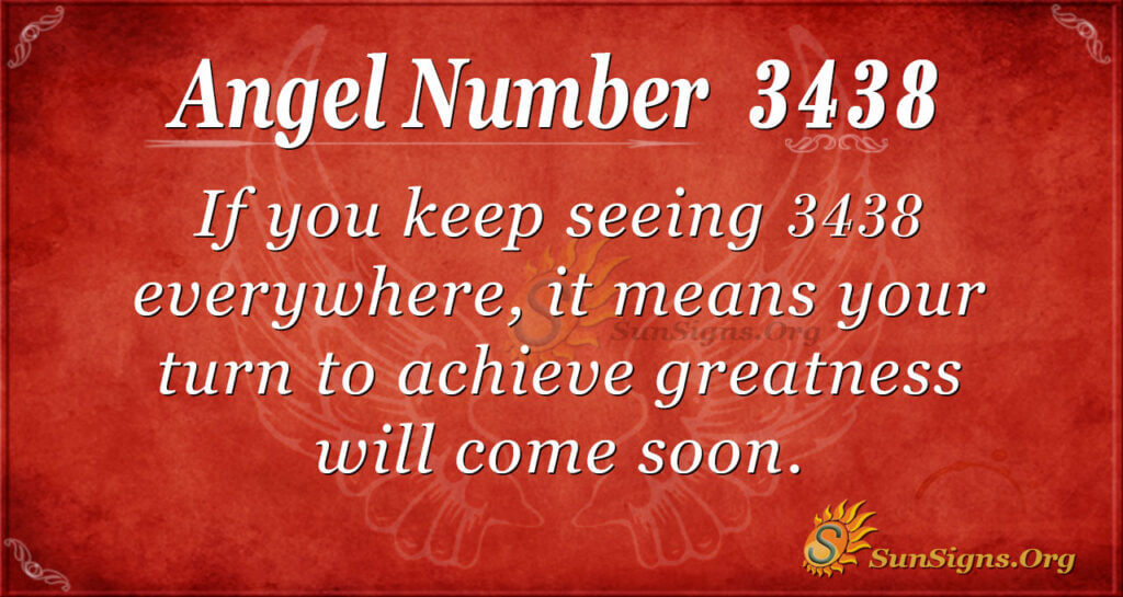 3438 angel number