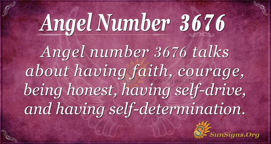 3676 angel number