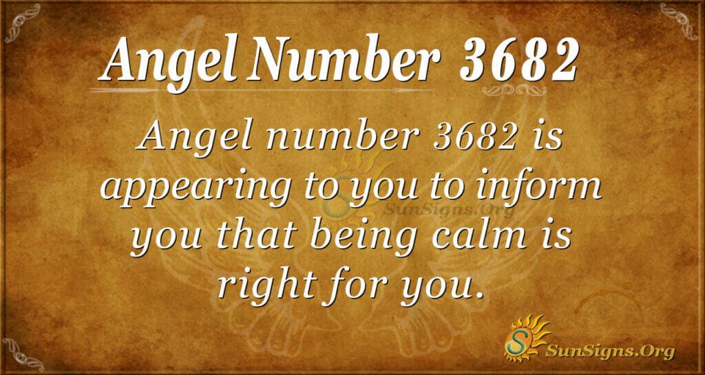 3682 angel number