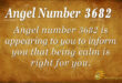 3682 angel number