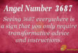 3687 angel number