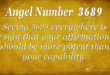 3689 angel number