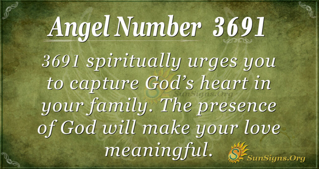 3691 angel number