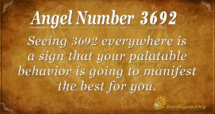 3692 angel number