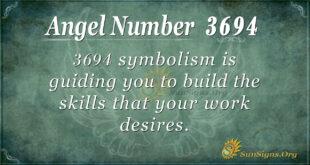 3694 angel number