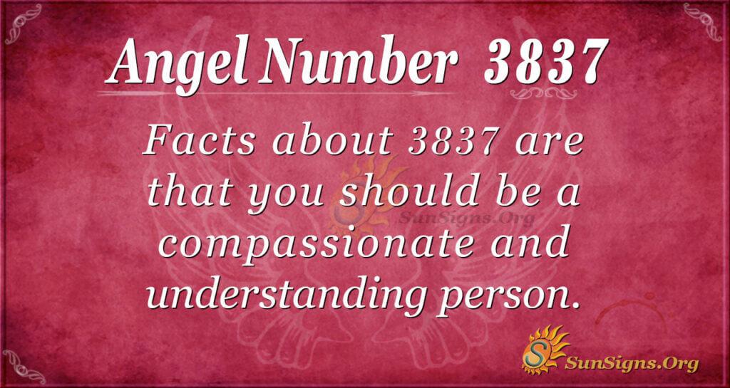 3837 angel number