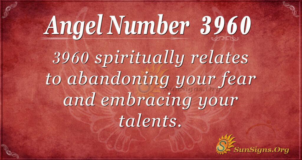 3960 angel number
