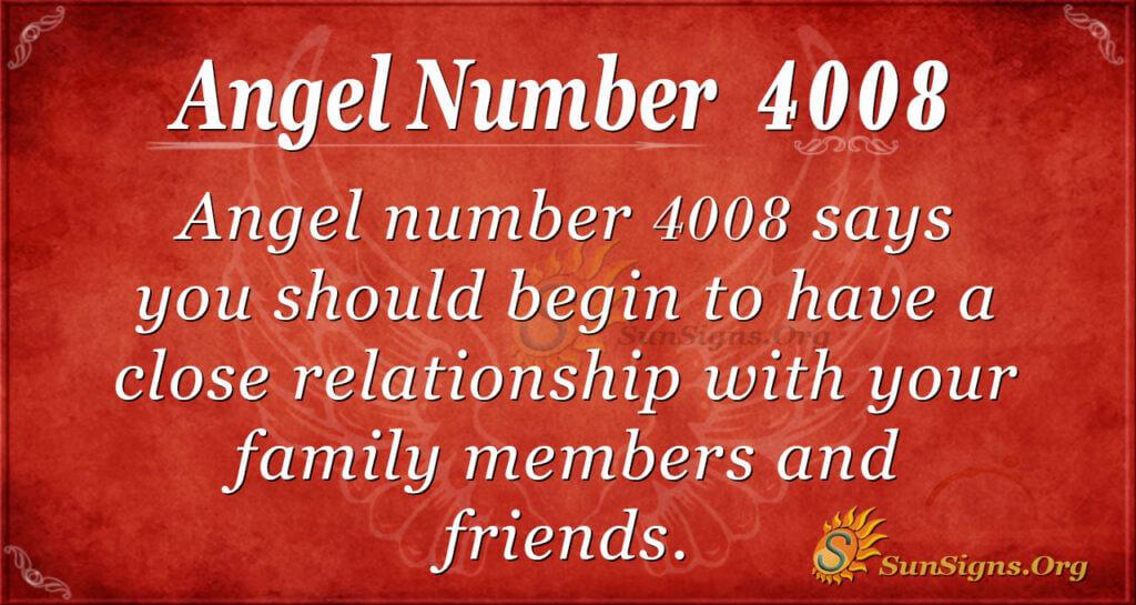 4008 angel number