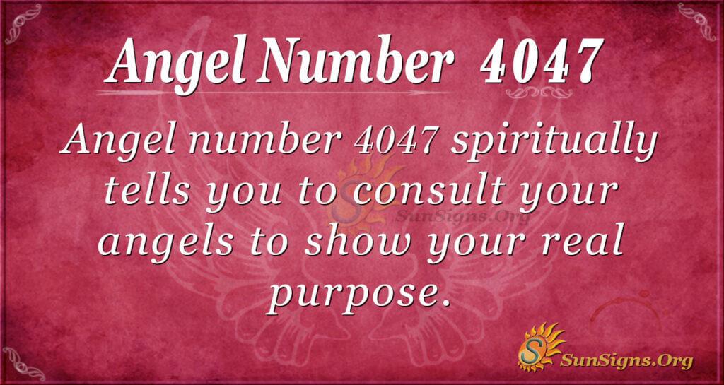 4047 angel number