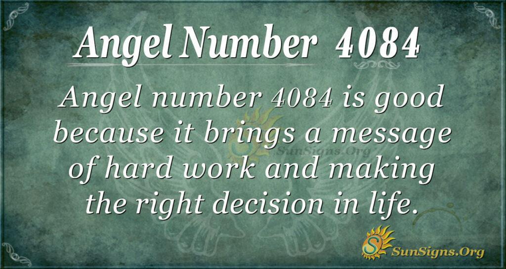 4084 angel number