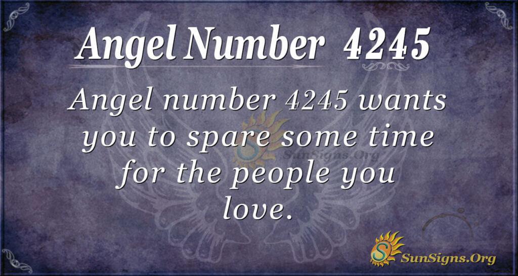 4245 angel number