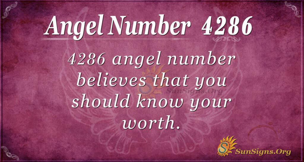 4286 angel number