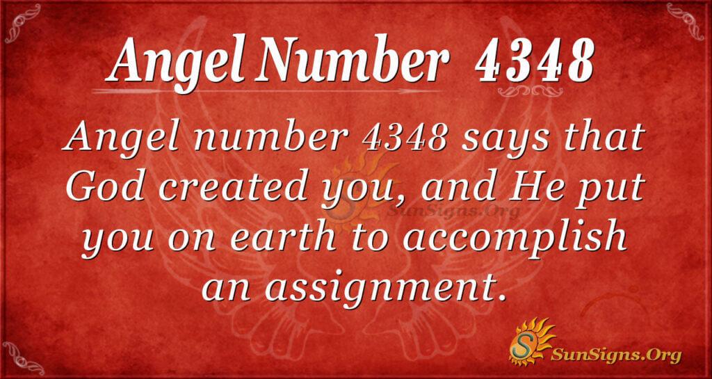4348 angel number