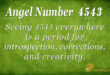 4543 angel number