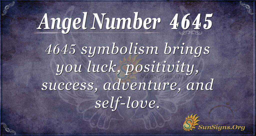 4645 angel number