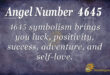 4645 angel number