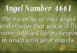 4661 angel number