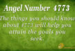 4773 angel number