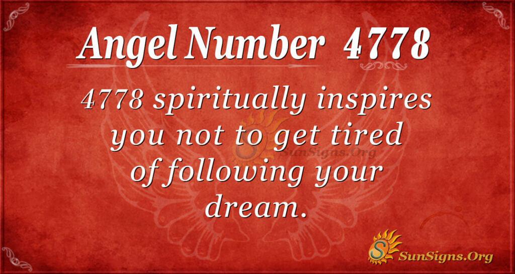 4778 angel number