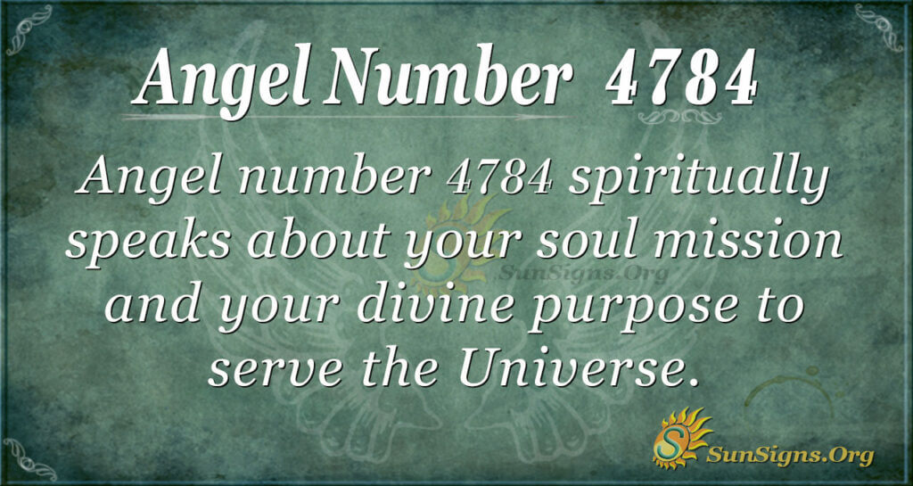 4784 angel number
