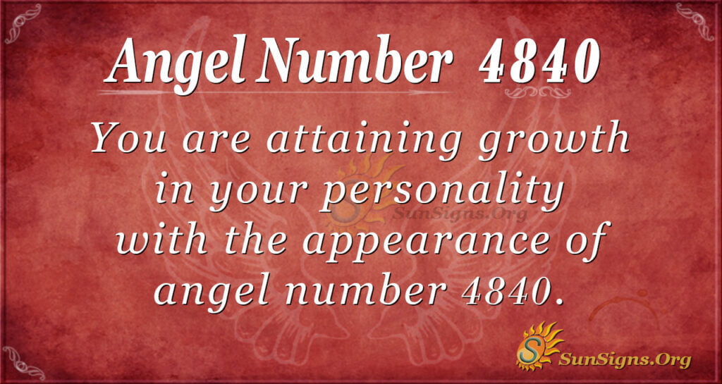 4840 angel number