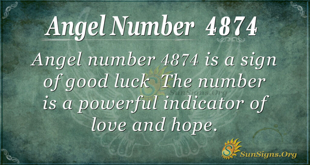4874 angel number