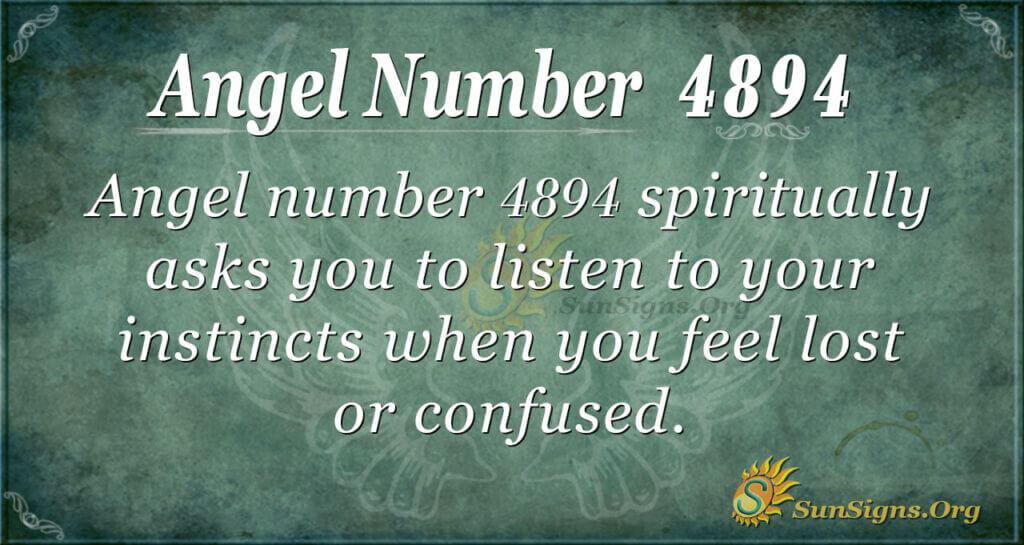 4894 angel number