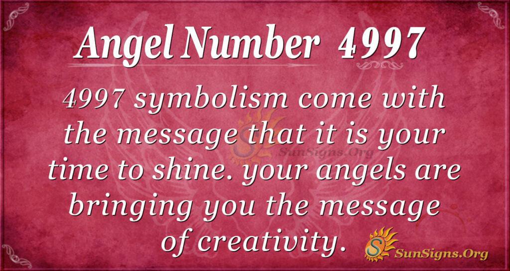 4997 angel number