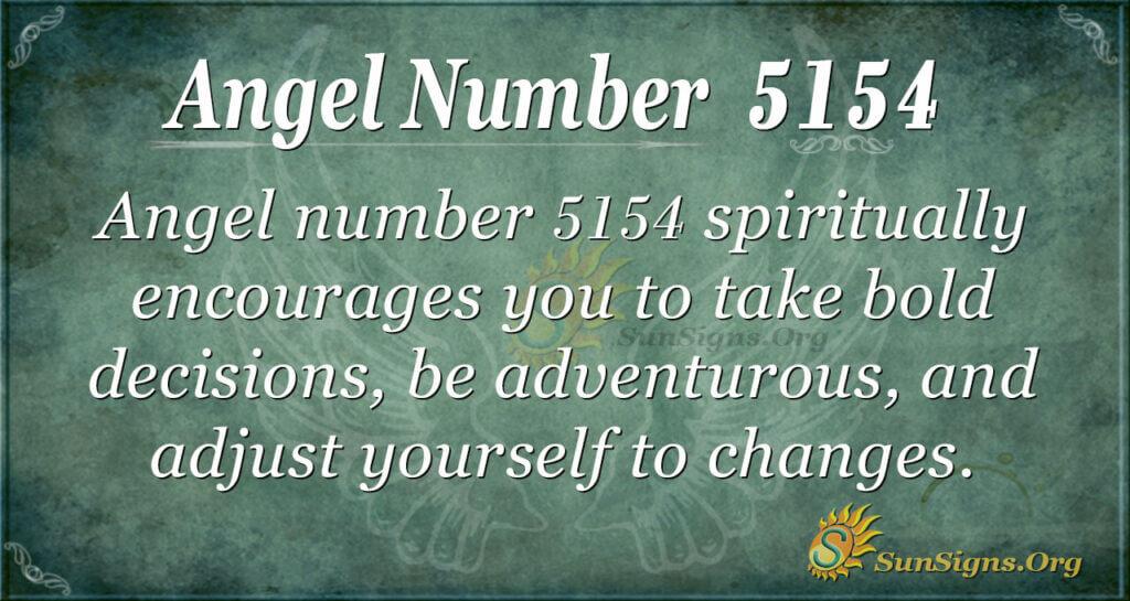 5154 angel number