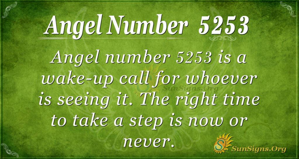 5253 angel number